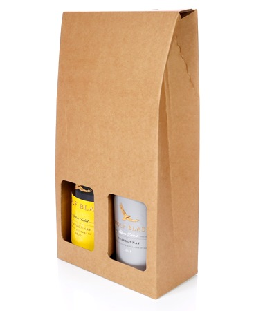 Double Bottle Gift Box For Wine Db102