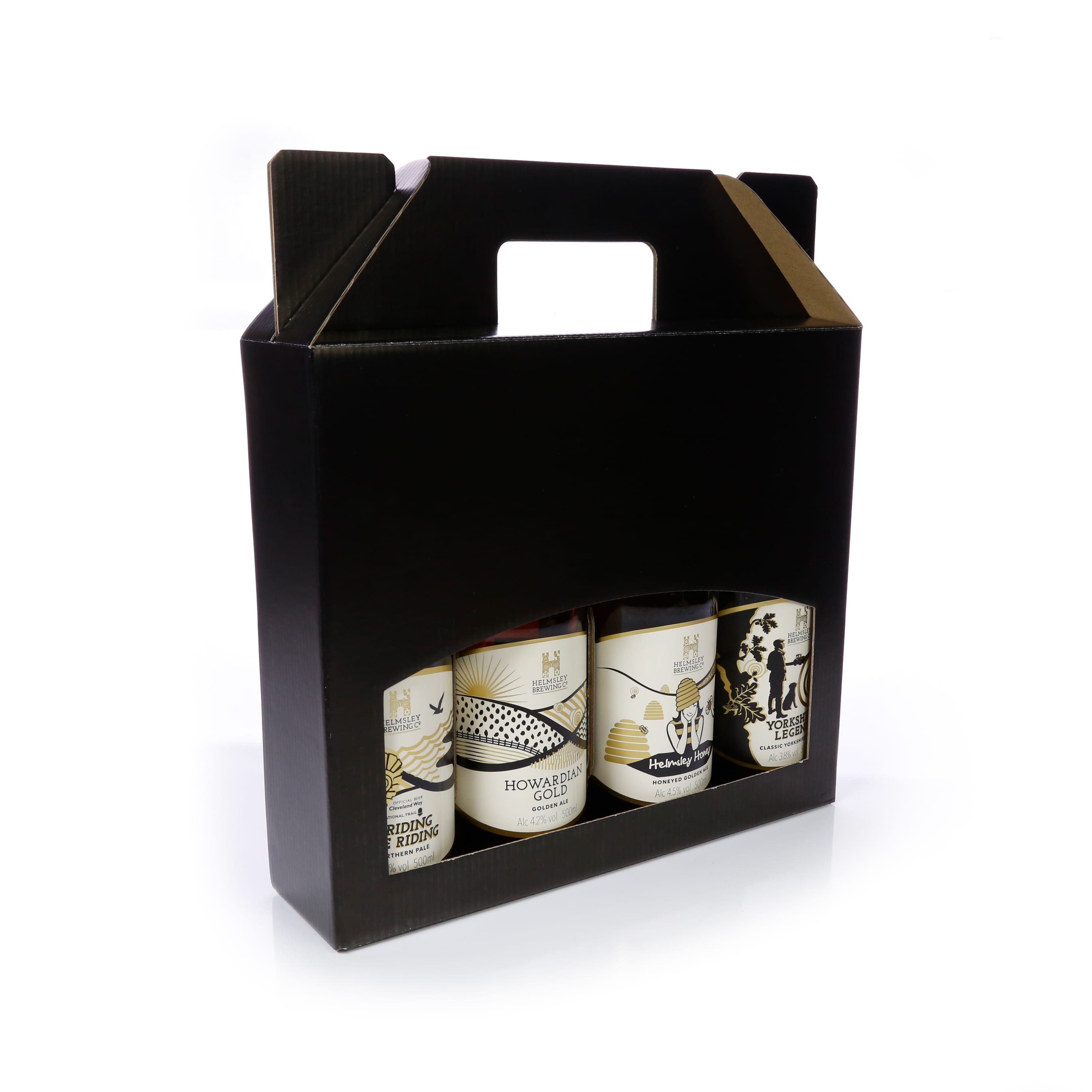 Beer / Cider Bottle Gift Box - DB79BL