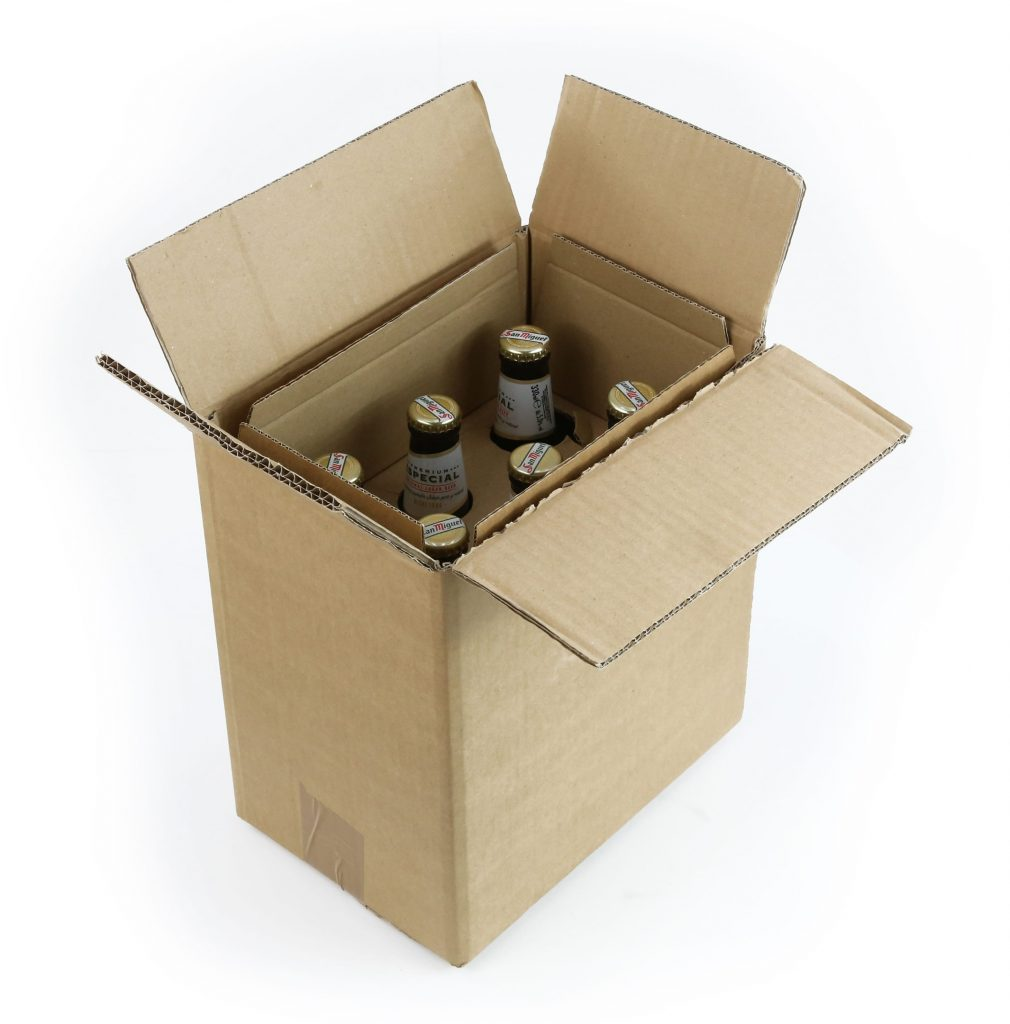 Beer Bottle Shipping Boxes