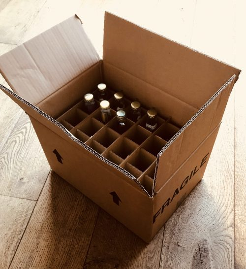 24 X 200ML TONIC BOTTLE BOX
