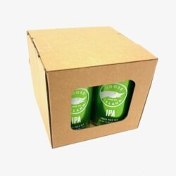 4 x 330ml Beer or Cider Can Gift Boxes