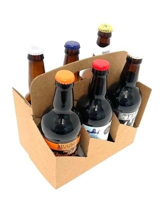 4 x 330ml bottle carrier carry-out pack