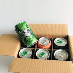 6 X 330ML BEER AND CIDER CAN TRANSIT PACK