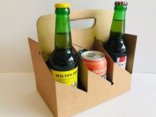 6 x 330ml Bottle and Can Carry Out