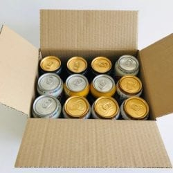 Beer and Cider can Shipping box 12 x 440ml