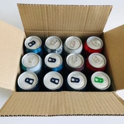 12 330ml Can Pack for Packaging