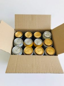 Beer and Cider can Shipping box 12 x 440ml by Packaging for Retail