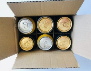 Beer and cider can shipping box by Packaging for Retail, UK.