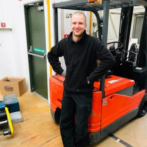 Team member focus. Meet Bart our Packaging Warehouse Supervisor