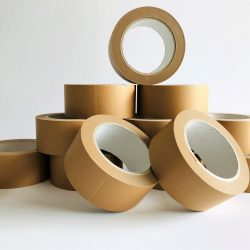 Rolls of Brown Paper Tape for Packaging