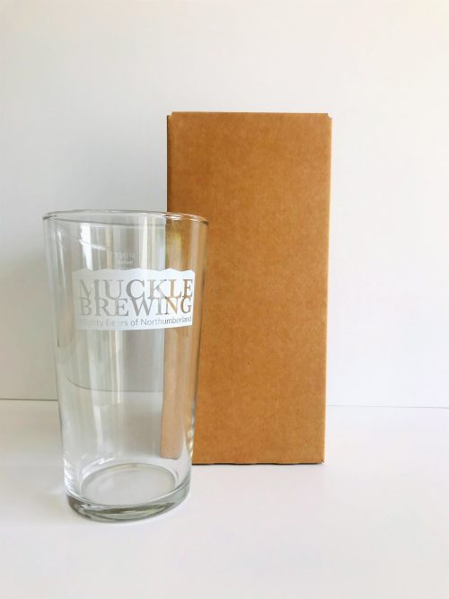 Single Pint Glass with Box Packaging