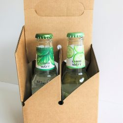 4 x 200 & 330ml Bottle Carrier Carry-Out Packs for Tonic Water