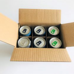 BEER AND CIDER 6 CAN SHIPPING BOX