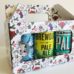 6 Can Pack in Christmas Packaging