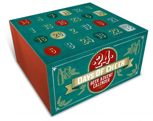 Christmas advent box by Packaging for Retail.