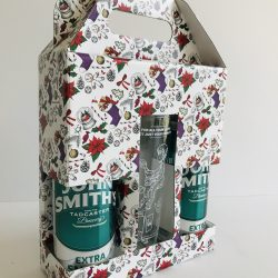 Can & Glass Christmas Gift Pack