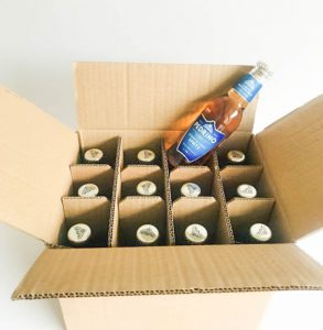 12 x 200ml Bottle Transit/Shipping Box by Packaging for Retail, UK.