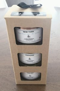 Gift Box Packaging for Candles by Packaging for Retail, UK.