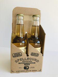 Spellbinding Beer for Halloween, packaging created by Packaging for Retail, UK.