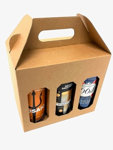 6 500ml Beer & Cider Can Gift Box