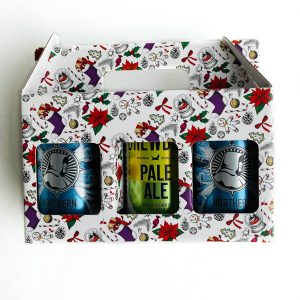 Christmas Beer/Cider Can Gift Pack by Packaging for Retail, UK.