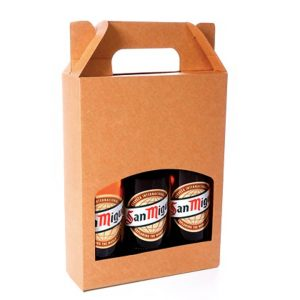 BEER AND CIDER BOTTLE GIFT BOX for Artefact Brewery by Packaging for Retail, UK