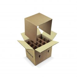 Bottle Shipping and Transit boxes for Bottles by Packaging for Retail, UK.