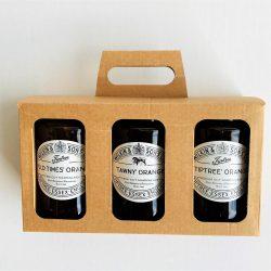 3x Marmalade Jar Box with Handle