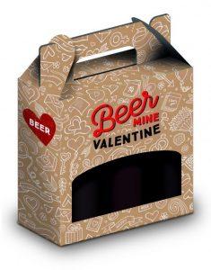Beer My Valentine Gift Packaging by Packaging for Retail, UK. Packaging for Retail specialise in Gift Packaging for the Retail industry in the UK