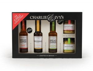 SAUCES, PRESERVE & JAR PACKAGING by Packaging for Retail, Uk for Charlie and Ivys.