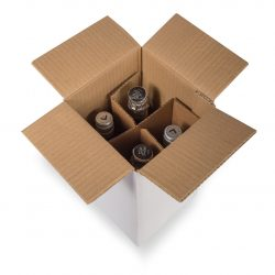 Bottle Shipping and Transit boxes by Packaging for Retail, UK.