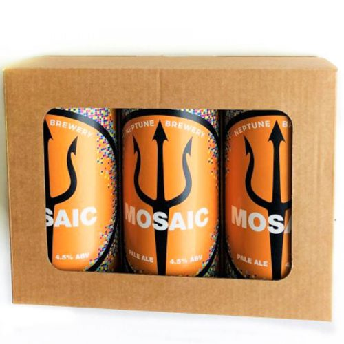 Flat Top BEER OR CIDER GIFT PACK by Packaging for Retail, UK.