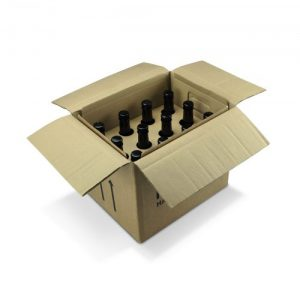 Bottle or Can Carrier Shipping Box by Packaging for Retail.