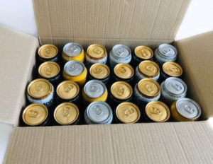 24 X 440ML Shipping Box by Packaging for Retail has a double-walled outer and can come with dividers.