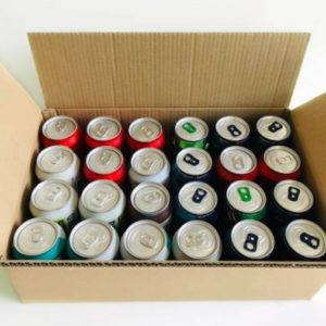 Beer/Cider Can Shipping Box for 24 X 330ML by Packaging for Retail, UK.