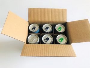 BEER AND CIDER 6 CAN SHIPPING BOX by Packaging for Retail UK