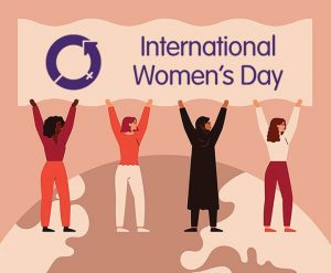 International Women's Day 2021 by Packaging for Retail, UK.
