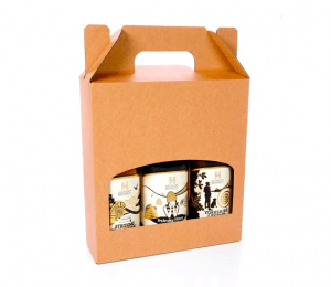 Beer/Cider Bottle Gift Box with Outer by Packaging for Retail, UK.