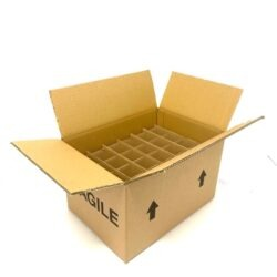 24 x 200ml and 250ml Fragile Shipping Box